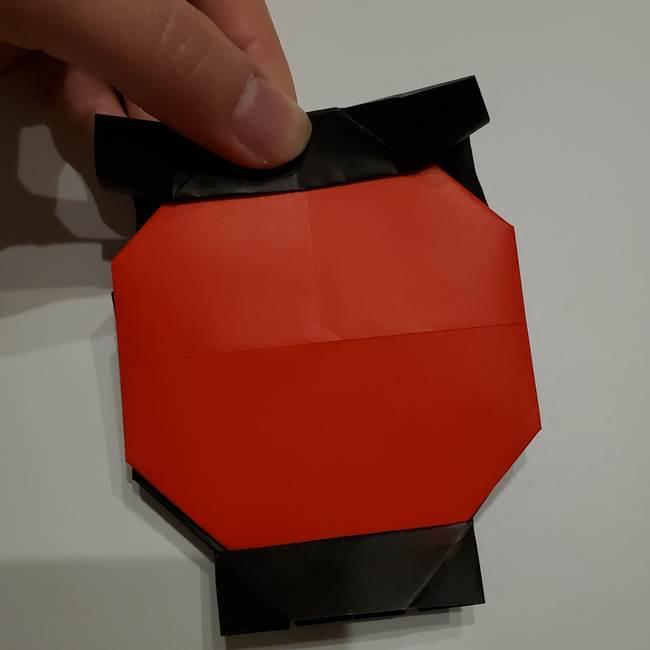 提灯の折り紙(平面)の簡単な折り方作り方②火袋(21)