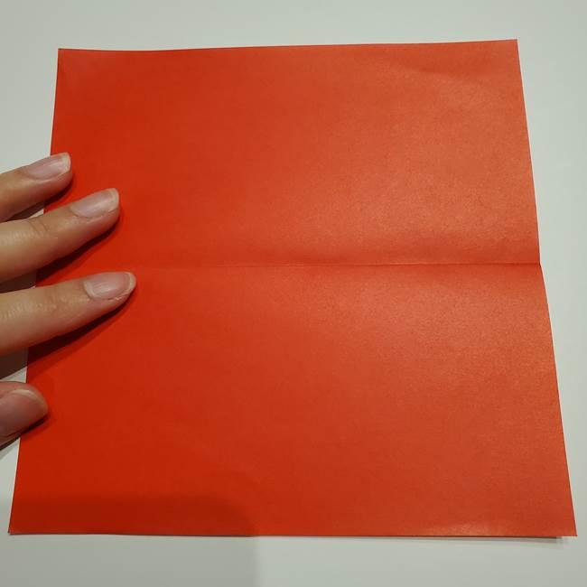 提灯の折り紙(平面)の簡単な折り方作り方②火袋(3)