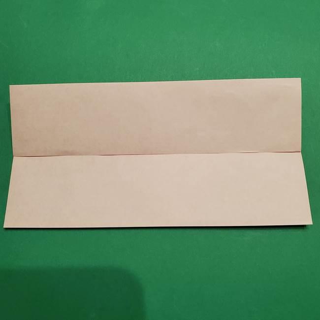 提灯の折り紙(平面)の簡単な折り方作り方②火袋(4)