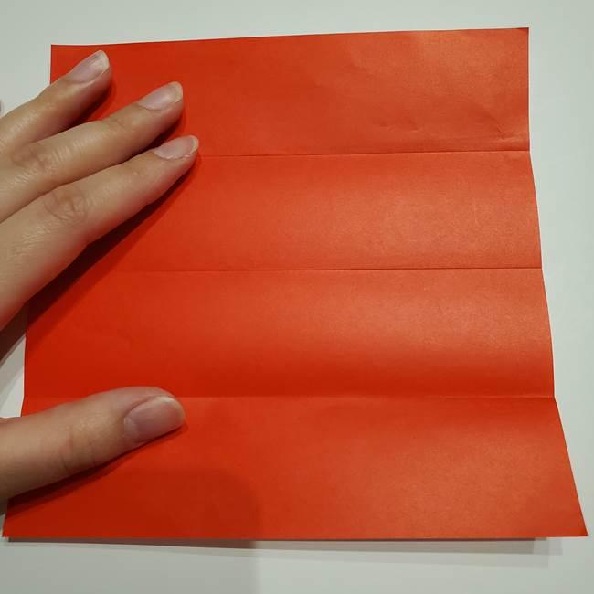 提灯の折り紙(平面)の簡単な折り方作り方②火袋(5)