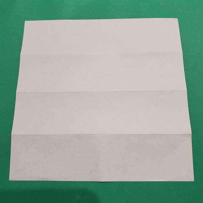 提灯の折り紙(平面)の簡単な折り方作り方②火袋(6)