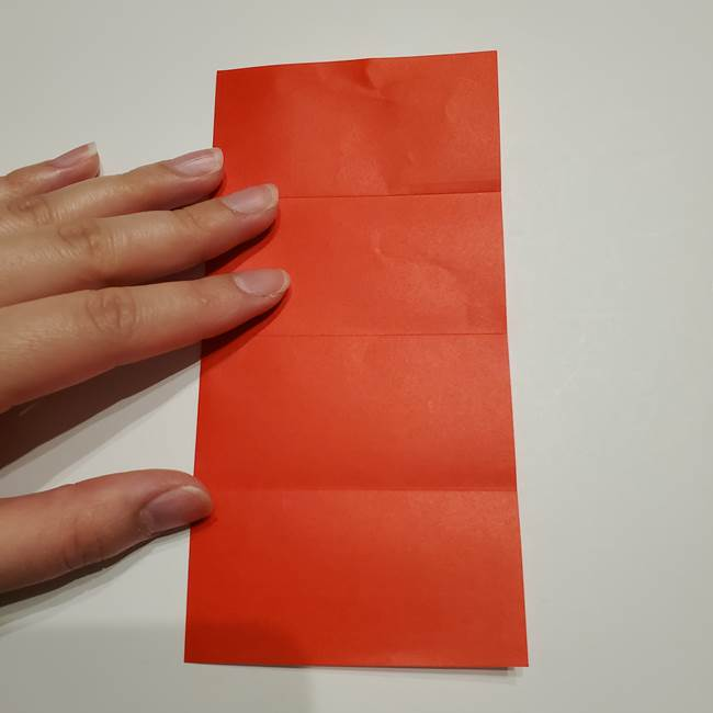 提灯の折り紙(平面)の簡単な折り方作り方②火袋(7)