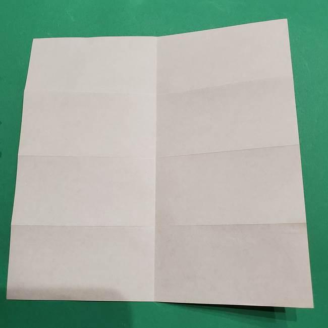 提灯の折り紙(平面)の簡単な折り方作り方②火袋(8)