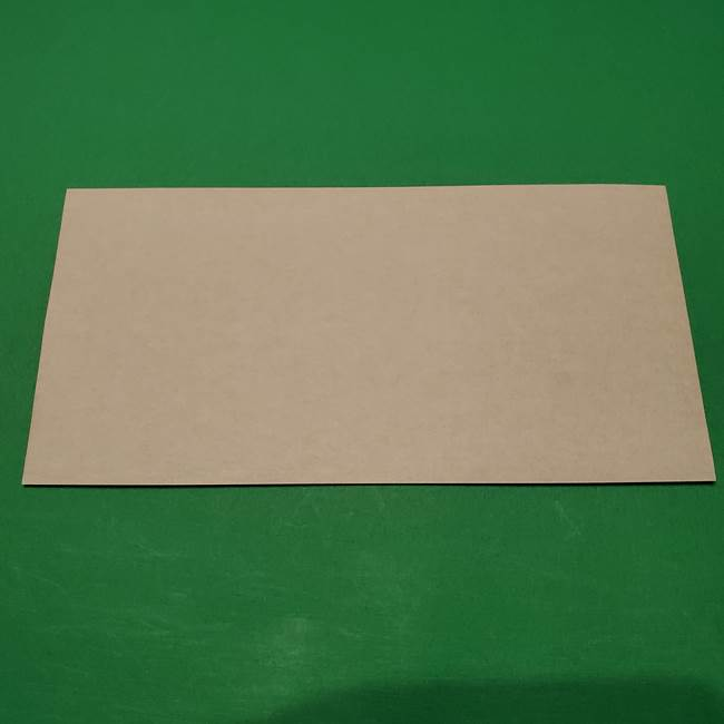 桔梗の花を折り紙一枚で立体的につくる折り方(2)