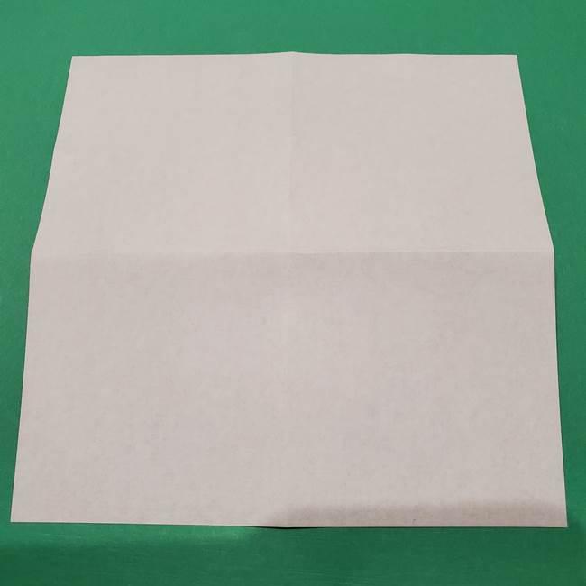 桔梗の花を折り紙一枚で立体的につくる折り方(5)