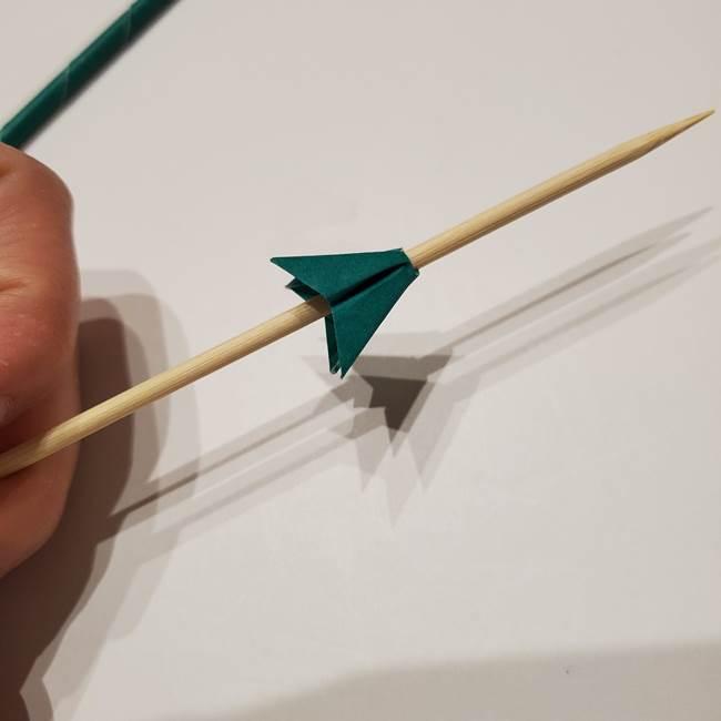 桔梗の葉っぱの折り紙 簡単な折り方作り方④完成(3)