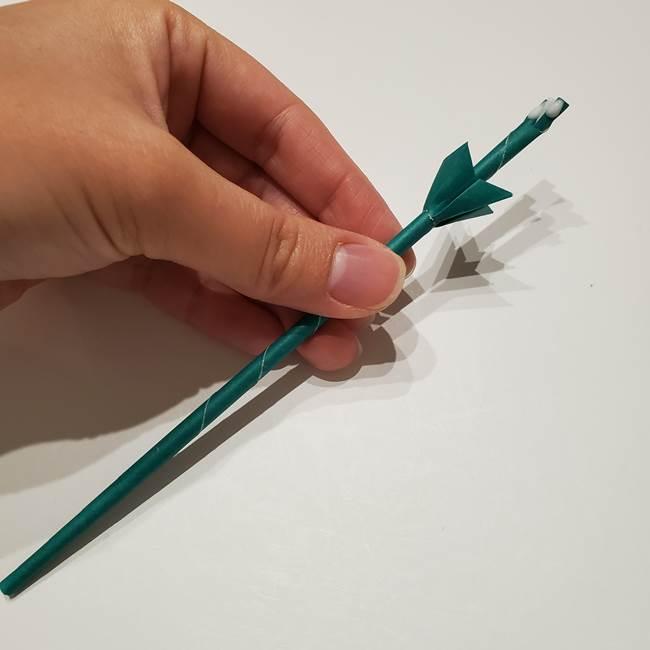 桔梗の葉っぱの折り紙 簡単な折り方作り方④完成(8)