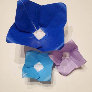 桔梗は折り紙一枚で立体的に作れる♪意外と簡単な夏の花☆