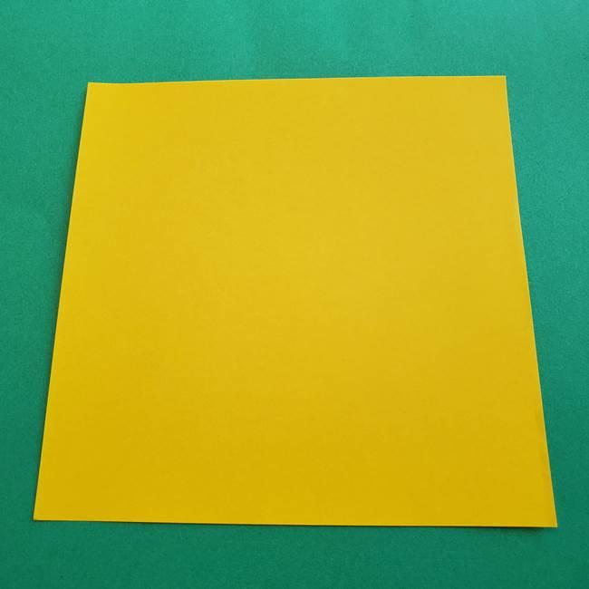 水仙の折り紙を平面で折るのは簡単?用意するもの(1)