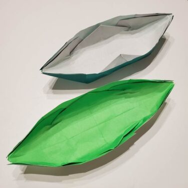 笹船の折り紙の折り方作り方は簡単♪七夕に子供と作ろう!