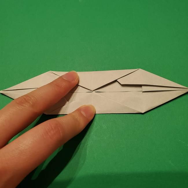 笹船の折り紙の折り方作り方(10)