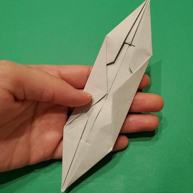 笹船の折り紙の折り方作り方(11)