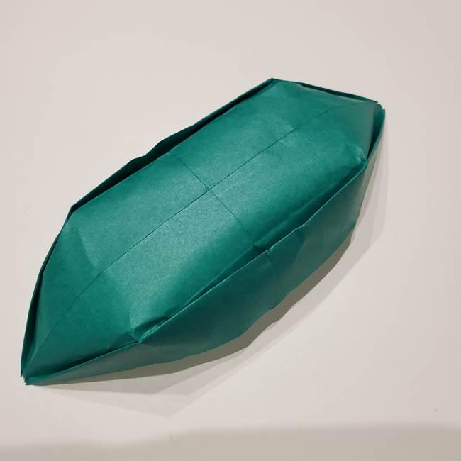 笹船の折り紙の折り方作り方(14)