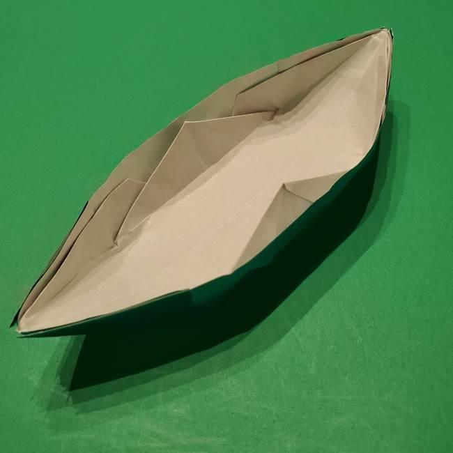 笹船の折り紙の折り方作り方(15)