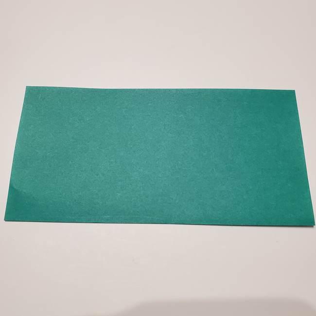 笹船の折り紙の折り方作り方(2)