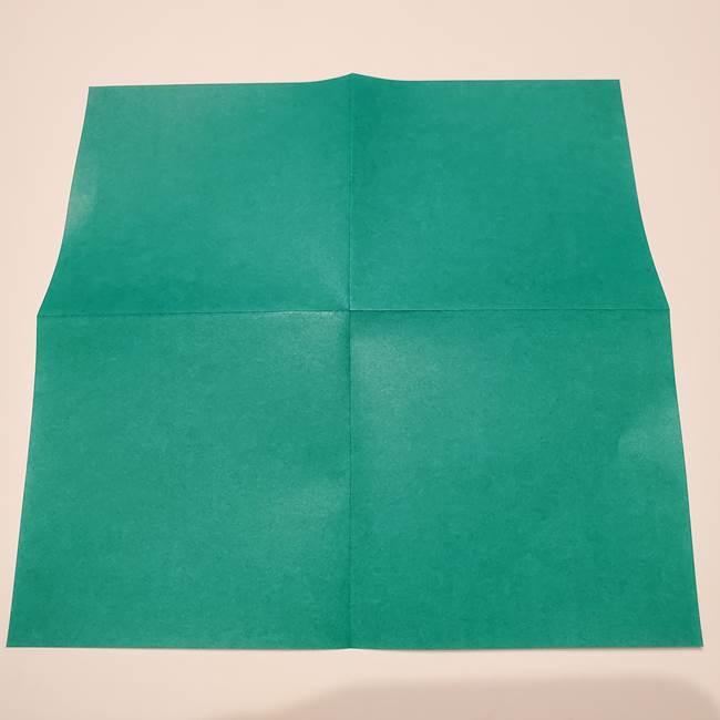 笹船の折り紙の折り方作り方(4)