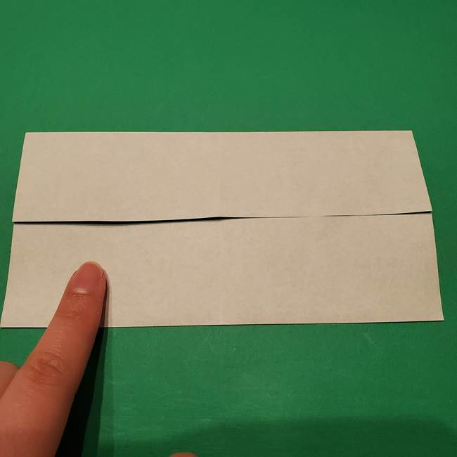 笹船の折り紙の折り方作り方(5)
