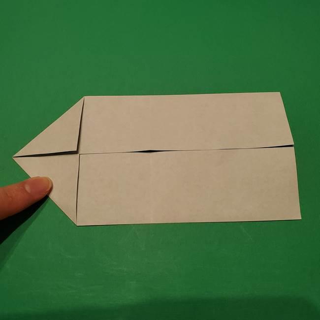 笹船の折り紙の折り方作り方(6)