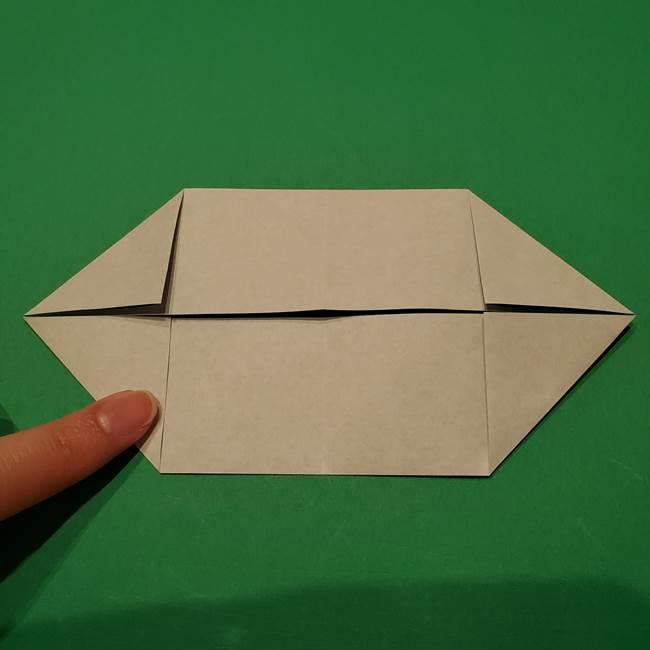 笹船の折り紙の折り方作り方(7)