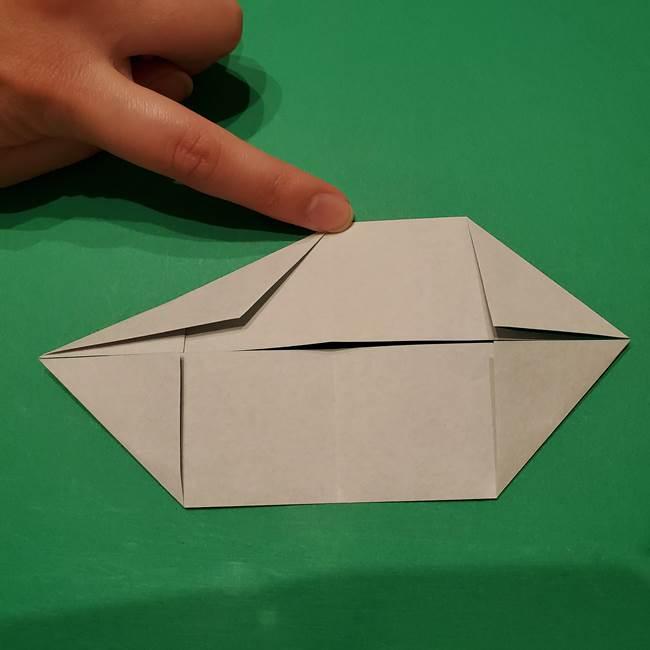 笹船の折り紙の折り方作り方(8)
