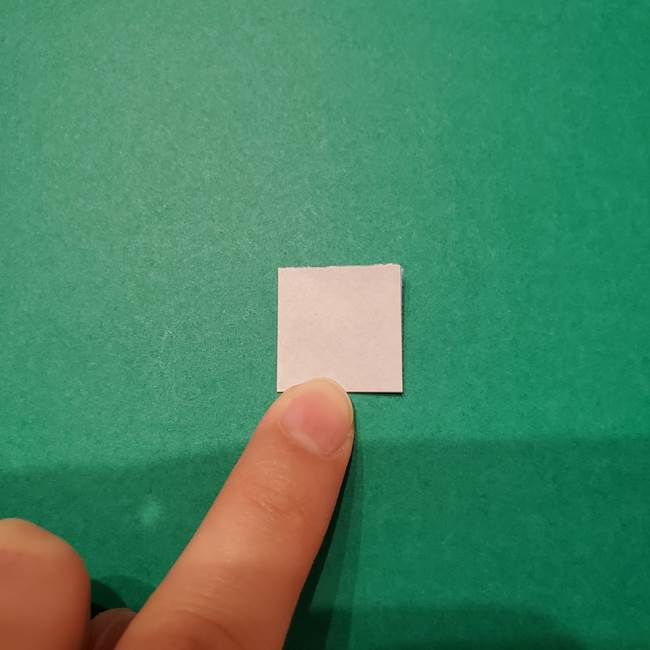 紫陽花の折り紙 子ども幼児向けの折り方作り方(3)