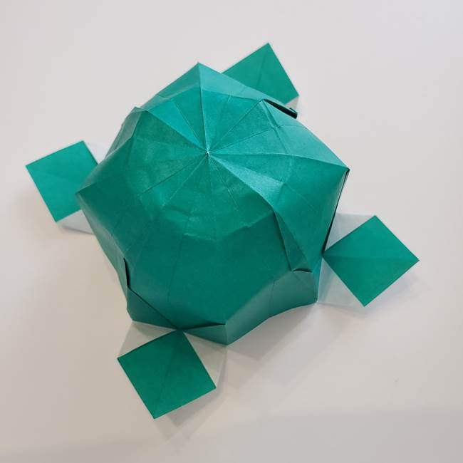 紫陽花の折り紙 葉っぱの作り方は簡単⁉ 1枚で立体的に作れる折り方☆
