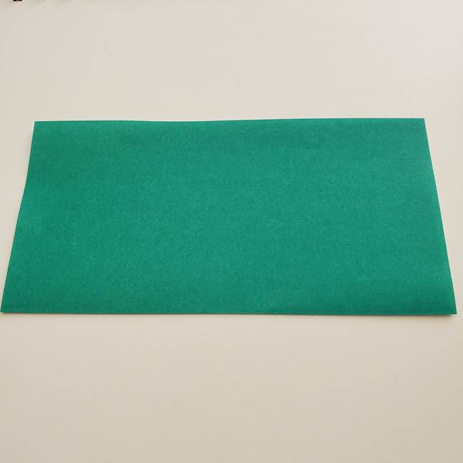 紫陽花の折り紙 葉っぱの作り方折り方(2)