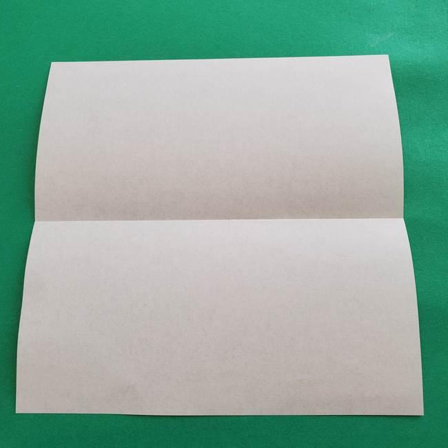 紫陽花の折り紙 葉っぱの作り方折り方(3)