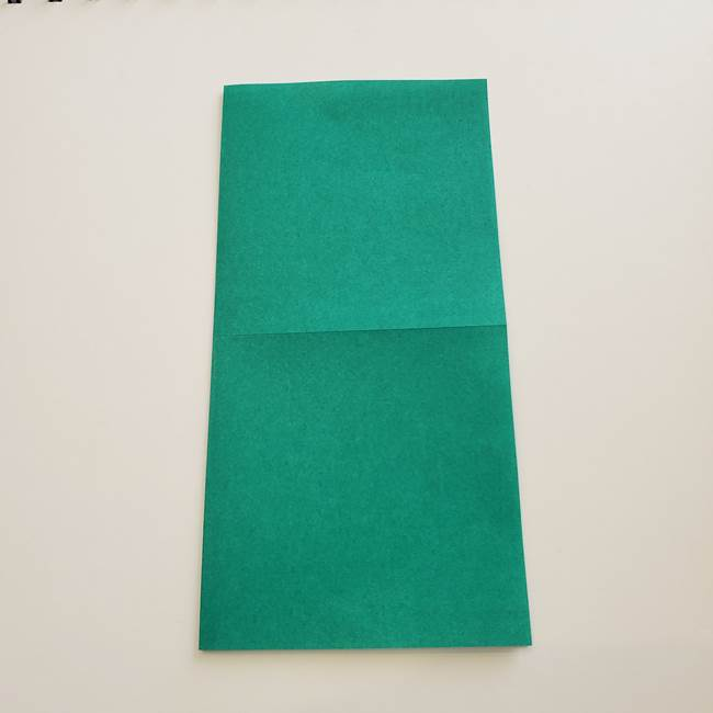 紫陽花の折り紙 葉っぱの作り方折り方(4)