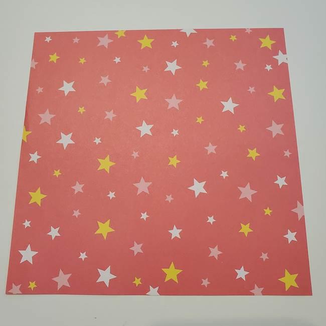 誕生日の飾りつけの折り紙の星☆用意するもの(1)
