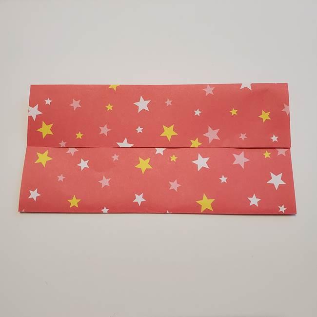 誕生日の飾り付け 折り紙の星を大量につなげて手作りガーランドの作り方①折る(4)