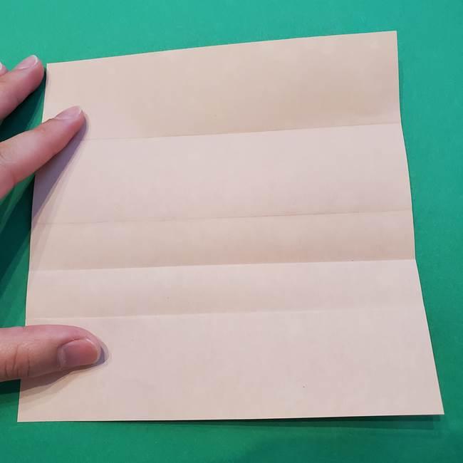 誕生日の飾り付け 折り紙の星を大量につなげて手作りガーランドの作り方①折る(7)