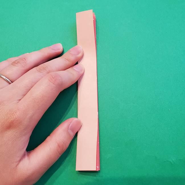 誕生日の飾り付け 折り紙の星を大量につなげて手作りガーランドの作り方②切る(1)