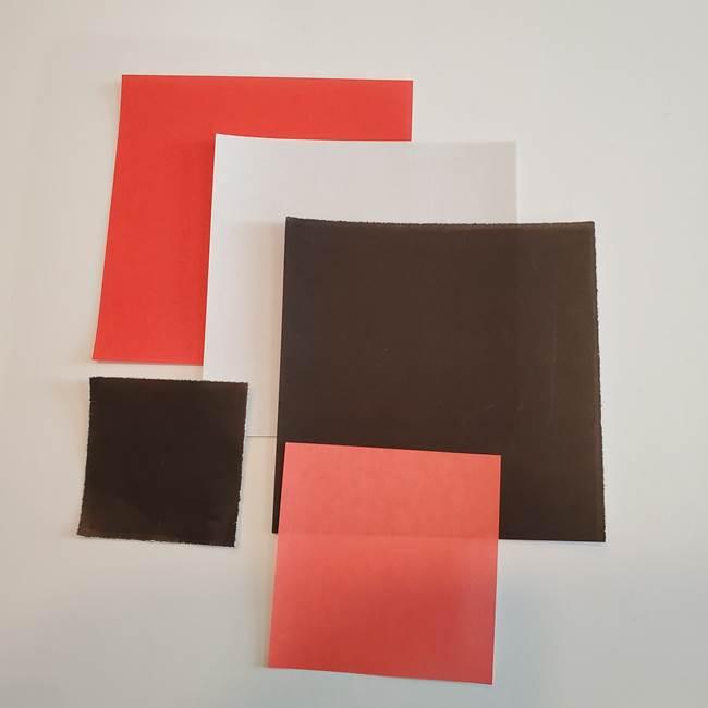 金魚の吊るし飾りの折り紙*必要なもの①折り紙