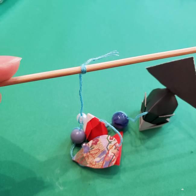 金魚の吊るし飾りの折り紙 作り方折り方A(15)