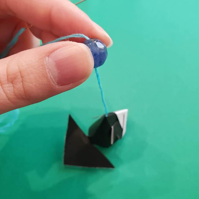 金魚の吊るし飾りの折り紙 作り方折り方A(7)