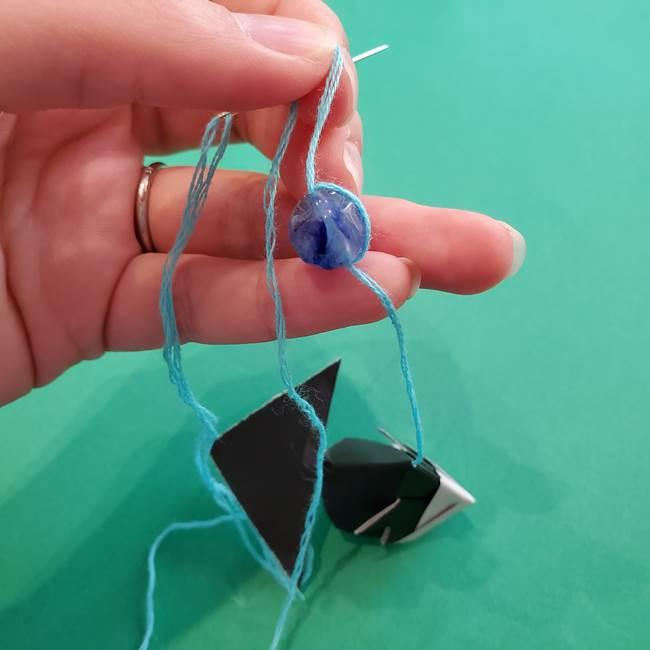 金魚の吊るし飾りの折り紙 作り方折り方A(9)