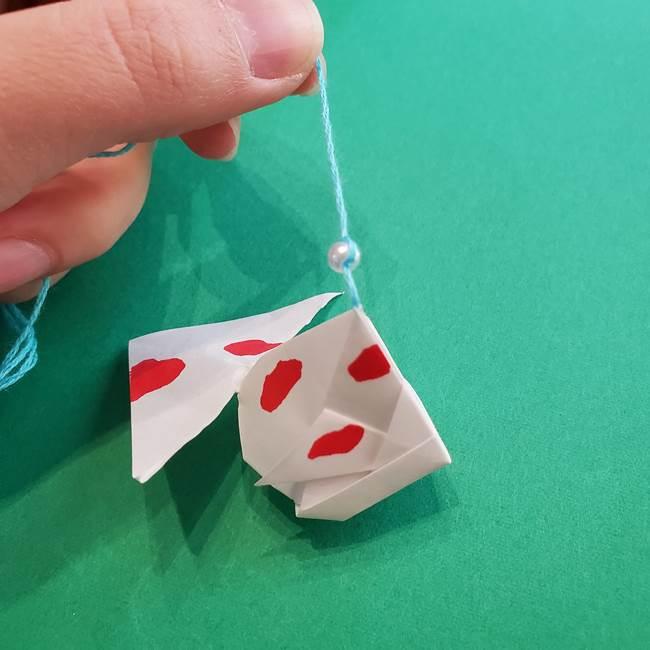 金魚の吊るし飾りの折り紙 作り方折り方B(3)