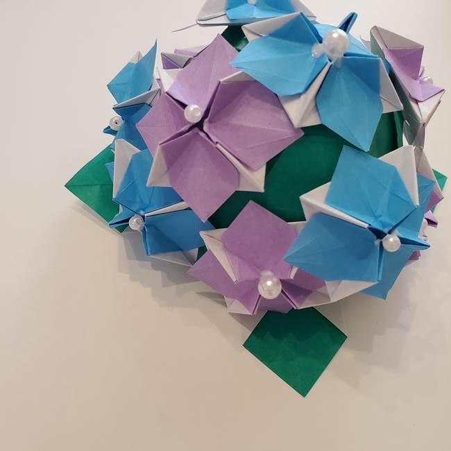 6月の折り紙 あじさい(立体の紫陽花)は難しい⁉折り方作り方を紹介