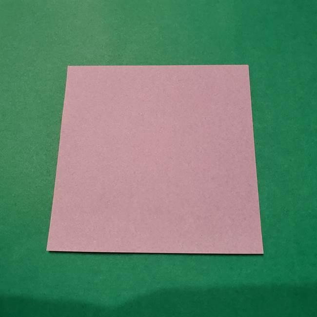 6月の折り紙 あじさい(立体)用意するもの(1)