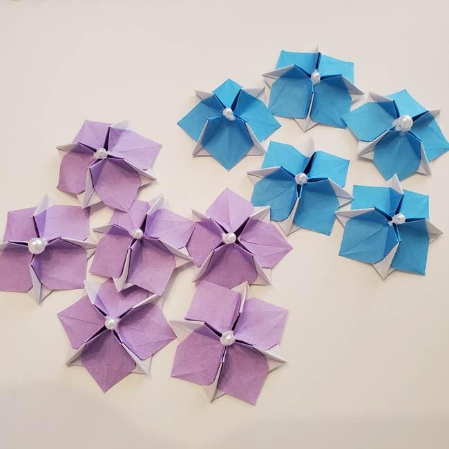 6月の折り紙 紫陽花は難しい⁉本格的に折りたい上級者向け(1)