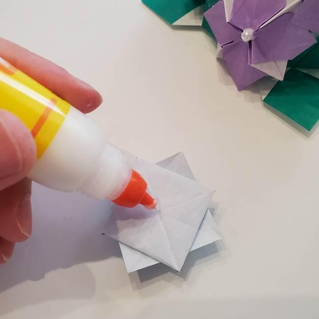 6月の折り紙 紫陽花は難しい⁉本格的に折りたい上級者向け(2)