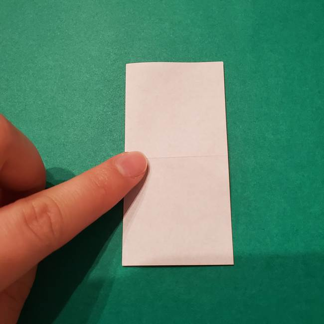 6 月の折り紙 あじさいを立体に折る折り方作り方(4)