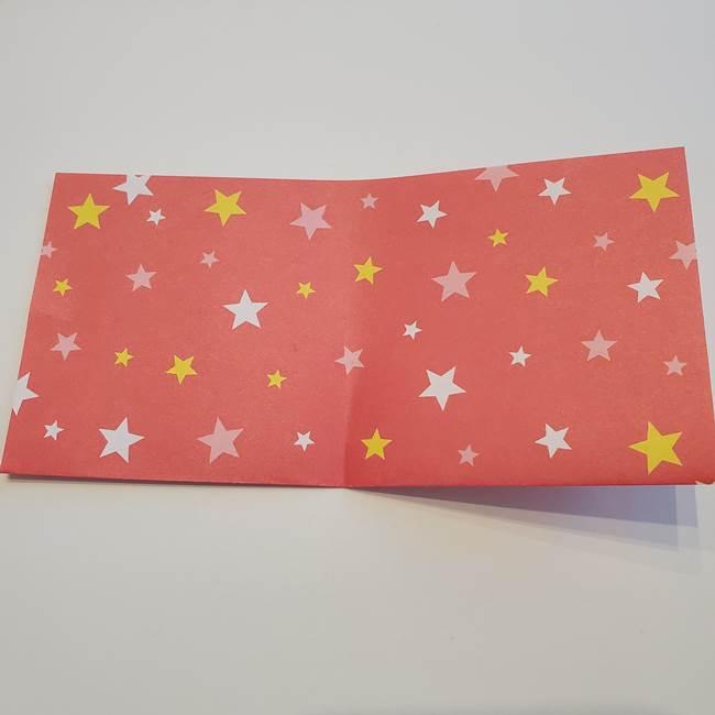 ぷくぷく星の折り紙 星型の箱の折り方作り方①六角形(4)