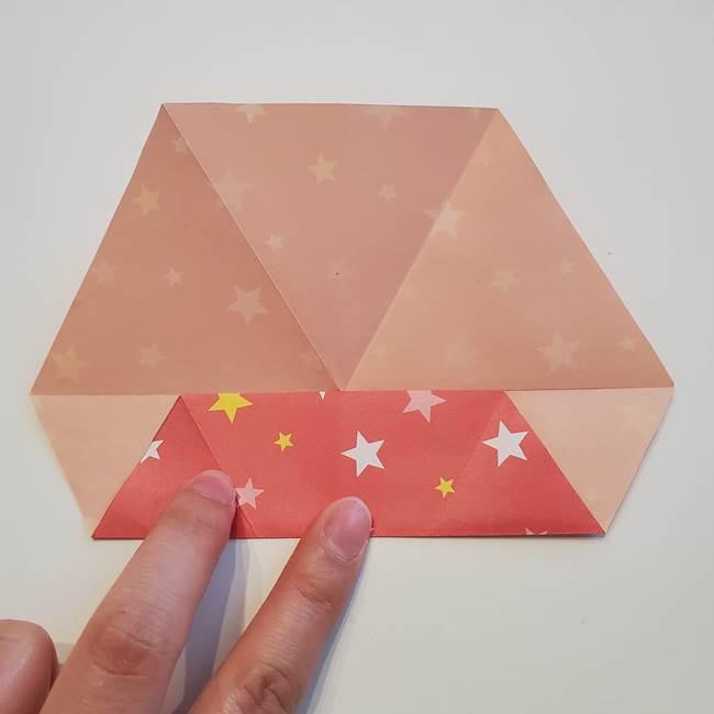 ぷくぷく星の折り紙 星型の箱の折り方作り方②完成(1)