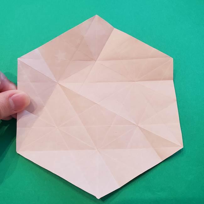ぷくぷく星の折り紙 星型の箱の折り方作り方②完成(10)