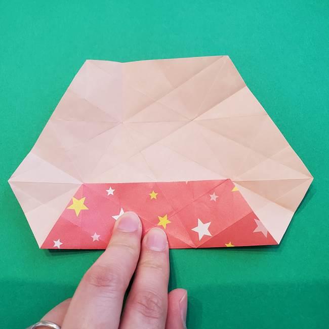 ぷくぷく星の折り紙 星型の箱の折り方作り方②完成(11)
