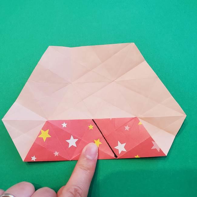 ぷくぷく星の折り紙 星型の箱の折り方作り方②完成(12)