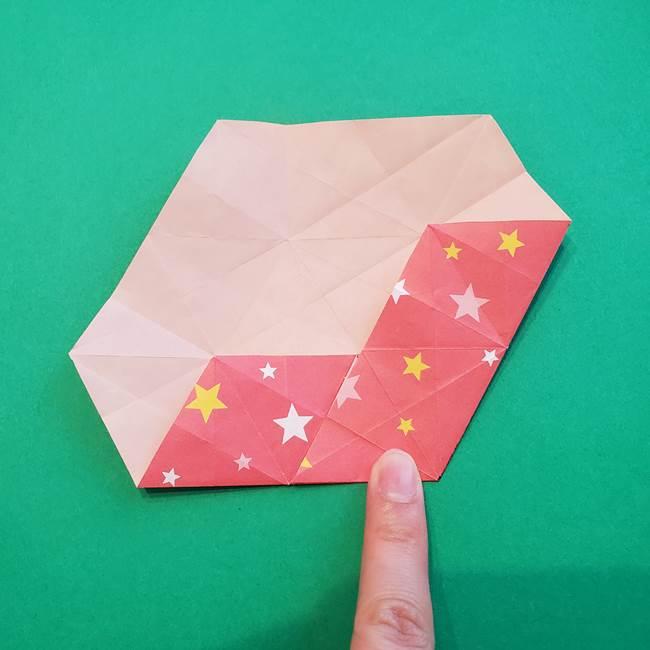 ぷくぷく星の折り紙 星型の箱の折り方作り方②完成(14)