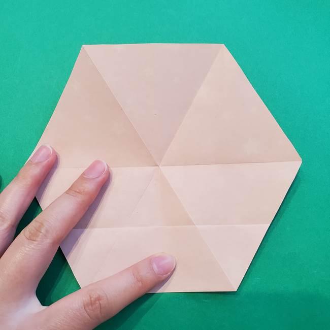 ぷくぷく星の折り紙 星型の箱の折り方作り方②完成(2)